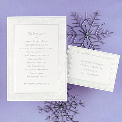 wedding invitations Tis the Season There in the heart of winter
