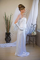 "Custom Wedding Veil -- 25"" x 30"" 2 Tier Waist Length Veil"