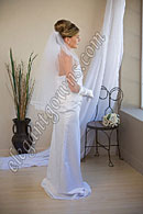 "Custom Wedding Veil -- 30"" 1 Tier Waist Length Veil"