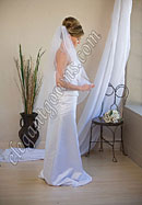 "Custom Wedding Veil -- 36"" 1 Tier Fingertip Length Veil"