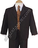 Copper Vest & Tie Ring Bearer Suit