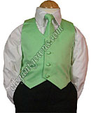 Lime Green Vest & Tie Ring Bearer Suit