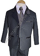 Clearance Pewter Vest & Tie Ring Bearer Suit