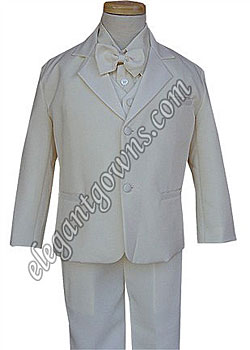 Clearance All White Bond Ring Bearer Tuxedo