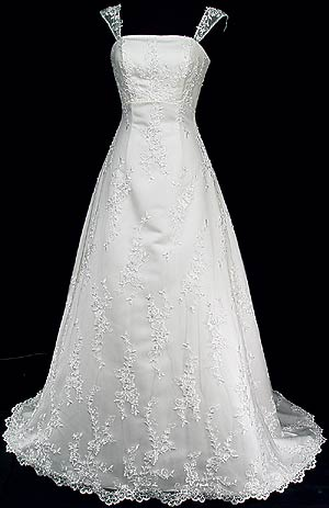 قصه اللون الابيض لفستان الزفاف Gown-7425-Front-Full-strapless.jpg