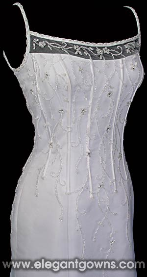 wedding dress - style CA7511