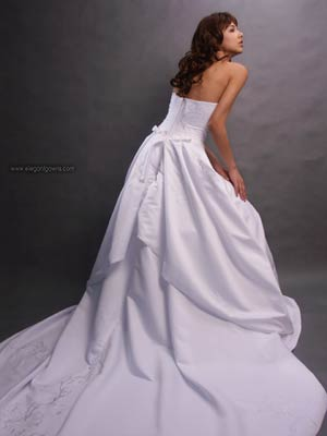 Corset Back Wedding Dress 10