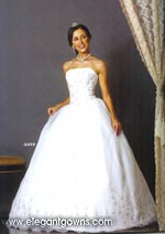 wedding dress - style #DQ006 - photo 1