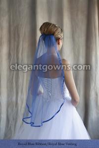 Wedding Veil Colors Elegant Gowns