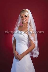 Lace Edge #2 Wedding Veil